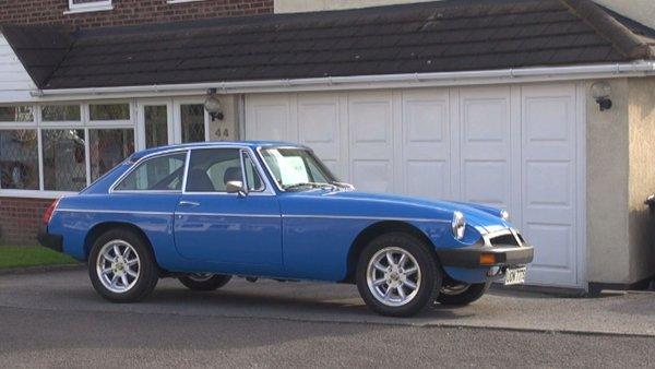 The Blue MGB.GT
