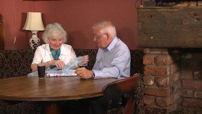 "Ann and Arthur Fletcher in ""Ties that Bind"""